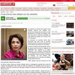 Coup d'envoi des débats sur les retraites - 08/10/2013 - LaDépêche