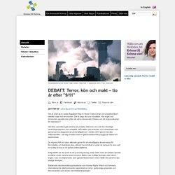 """DEBATT: Terror, kön och makt – tio år efter """"9/11"""""""