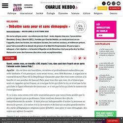 « Débattre sans peur et sans démagogie » - Charlie Hebdo