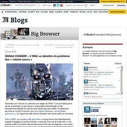 SARAH CONNOR – L'ONU va débattre du problème des « robots tueurs