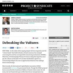 Debeaking the Vultures by Joseph E. Stiglitz ...