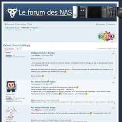 Debian Chroot et Deluge - Forum des NAS