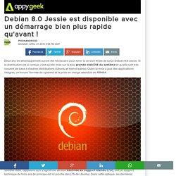 Debian 8.0 Jessie est disponible avec un démarrage bien plus rapide qu'avant !