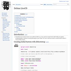 Debian LiveCD - PS3 Developer wiki