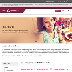 Debit Cards - Compare and Apply for Best Debit Card Online
