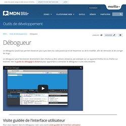 Débogueur - Outils de développement Firefox