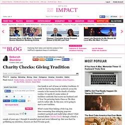 Deborah Stambler: Charity Checks: Giving Tradition