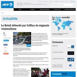 Le Brésil débordé par l'afflux de migrants vénézuéliens