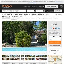 Villa de Caractère, avec piscine à débordement, jacuzzi et terrain de pétanque. - Provence Verte Brignoles