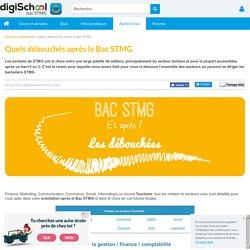 Débouchés Bac STMG - Orientation après le BAC STMG