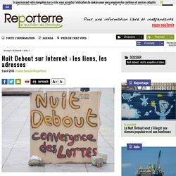 Nuit Debout sur Internet: les liens, les adresses