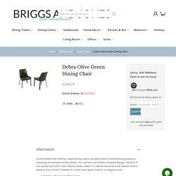Debra Olive Green Dining Chair