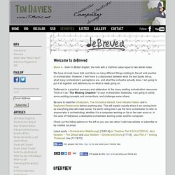 deBreved - deBreved - Tim Davies Website– deBreved – Tim Davies Website