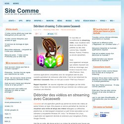 Débrideurs streaming : 5 sites comme Cacaoweb
