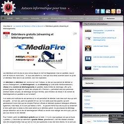[Màj 11-09-2011] Débrideurs gratuits de Megaupload, Megavideo et autres