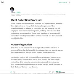 Debt Collection Processes