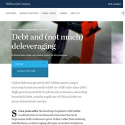 Debt and (not much) deleveraging