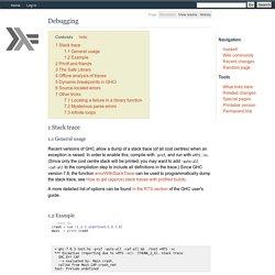 Debugging - HaskellWiki