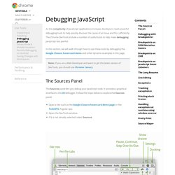 Debugging JavaScript Chrome