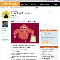 Debunking Homework Myths