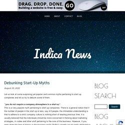 Debunking Start-Up Myths