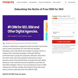 Debunking the Myths of Free CRM for SEO