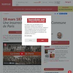 18 mars 1871 - Début de la Commune de Paris - Herodote.net
