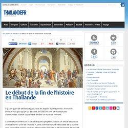 Le début de la fin de l'histoire en Thaïlande - Edito