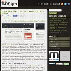 Guide pour débutant sur le <em>Responsive web design</em>