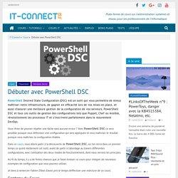 Débuter avec PowerShell DSC