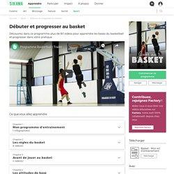 Débuter et progresser au basket