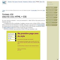 Débuter avec HTML + CSS
