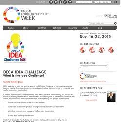 DECA Idea Challenge