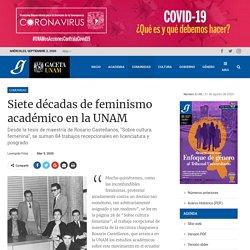 Siete décadas de feminismo académico en la UNAM - Gaceta UNAM
