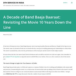 A Decade of Band Baaja Baaraat: Revisiting the Movie 10 Years Down the Line