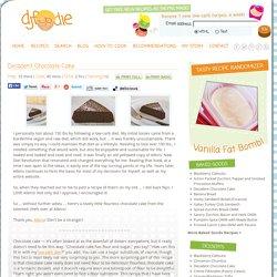 Decadent Chocolate Cake - www.djfoodie.com