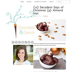 {12} Decadent Days of Christmas {9} Almond Joys