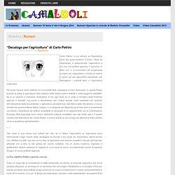 """""""Decalogo per l'agricoltura"""" di Carlo Petrini"""