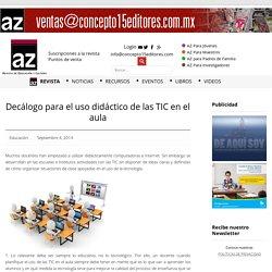 Decálogo para el uso didáctico de las TIC en el aula