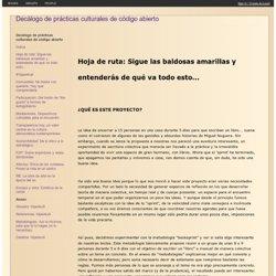 Hoja-De-Ruta / Decálogo de prácticas culturales de código abierto