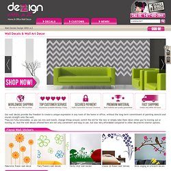 Wall Decals and Wall Stickers | Dezign With a Z : vinyl wall decals