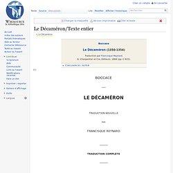 Le Décaméron/Texte entier