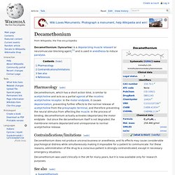 Decamethonium