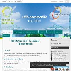 Decarbonathon - Engagez vos communautés