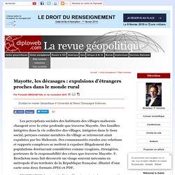 France. Mayotte: les décasages, expulsions d'étrangers proches