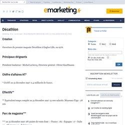Décathlon - Commercialiser