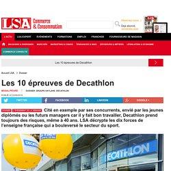 Les 10 épreuves de Decathlon - Les dossiers LSA de la grande consommation