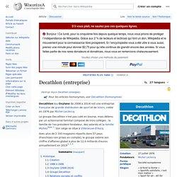 Decathlon (chaîne de magasins)