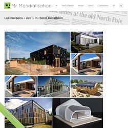 Les maisons «éco» du Solar Décathlon