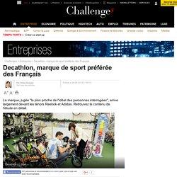 Decathlon est la marque de sport préférée des Français